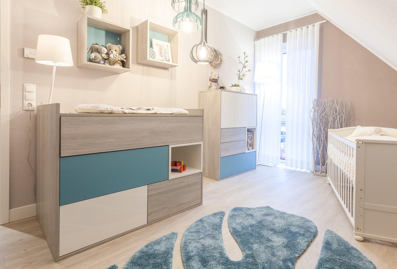 Modernes Babyzimmer