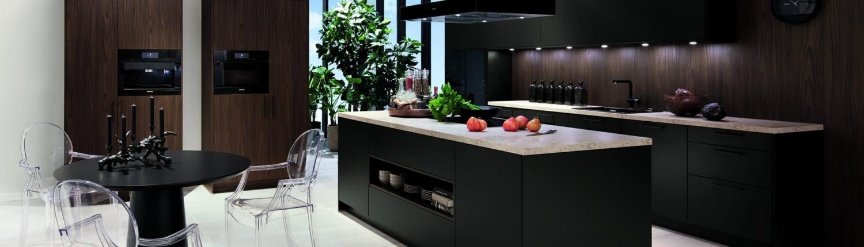 Keno Kent Küche dunkelbraun