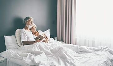 Schlafbedarf im Alter