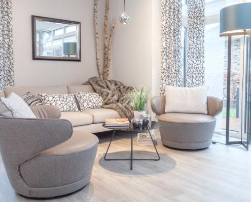 Designer-Sofa im skandinavischen Stil