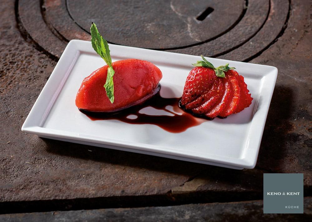erdbeerensorbet