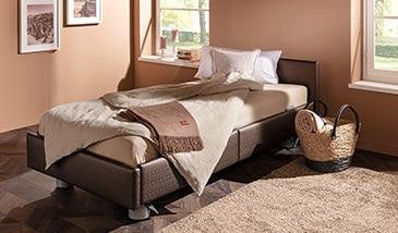 modernes pflegebett