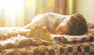 morgens schneller wach